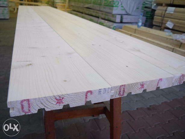 Deska podłogowa 40x245 świerk syberyjski dł.3,90 m