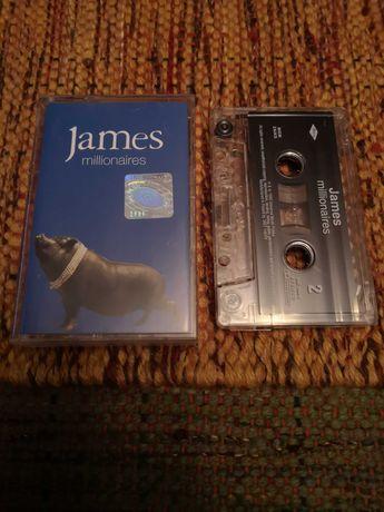 Kaseta magnetofonowa JAMES Millionaires