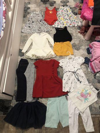 Одежда на 2-4 года девочку