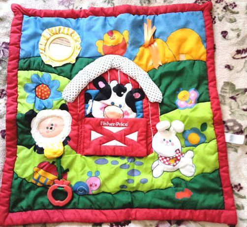 Детский развивающий коврик 65 х 65