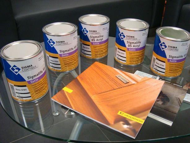 Farba renowacyjna, lakier, grunt SIGMA do okien drewnianych URZĘDOWSKI