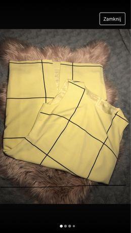 Sukienka elegancka żółta
