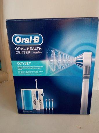 Oral-B OXYJET Irygator Health Center 4 końcówki