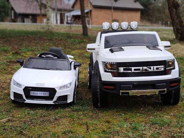 Autko FORD LONG na akumulator dla dzieci DUZE auto