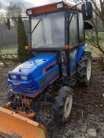 Traktor, traktorek Iseki 267 pług! Japoński!