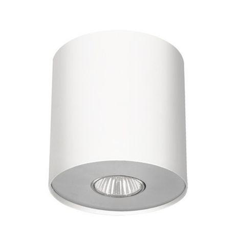 Lampa sufitowa POINT M plafon WHITE/SILVER 6001