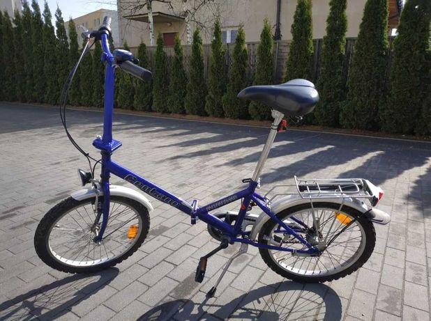 Rower miejski dla osoby dorosłej skladany i do podróży