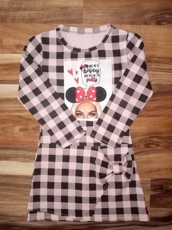 Sukienka dla dziewczynki r. 116
