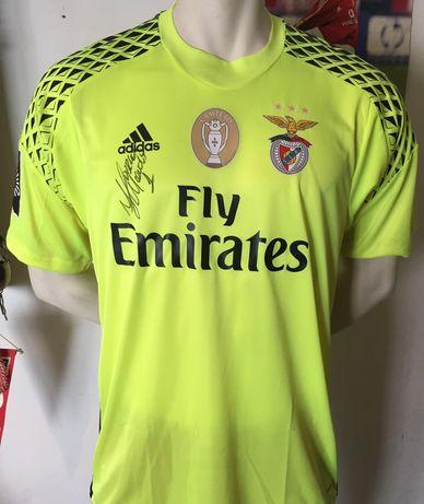 Camisola Benfica Ederson Morais assinada