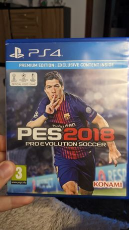 PES 2018 ps4 Play Station