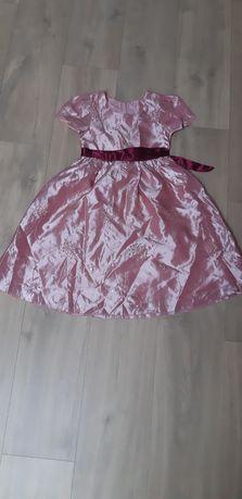 Sukienka strój karnawałowy przebranie 7 lat 122 cm