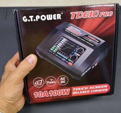 Зарядка для любых аккумуляторов GT Power TD610 PRO