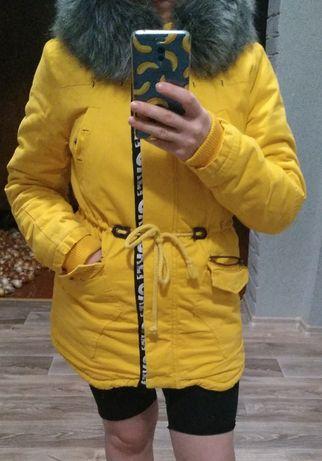 Куртка женская зимняя парка