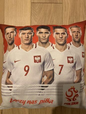 Poduszka z piłkarzami polskiej reprezentacji