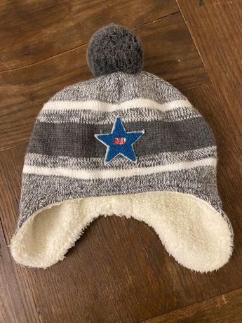 Ciepla czapka dla dziecka 1rok