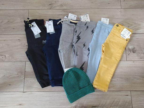 Spodnie joggery legi dresy Zara Reserved 86
