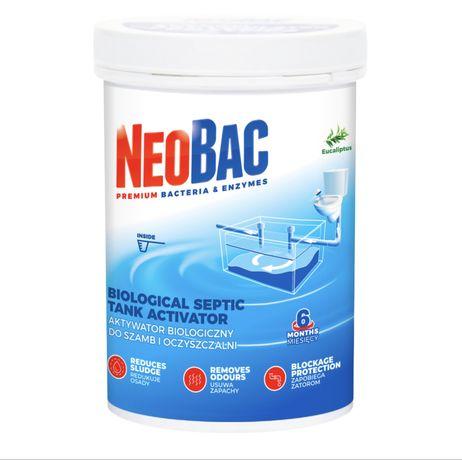 NEOBAC likwiduje nieprzyjemny  zapach bakterie EKO