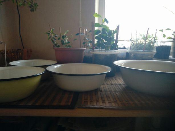 Миска миски посуда эмалированная, 100-300₽