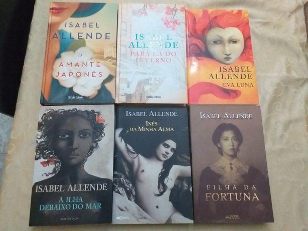 Vendo livros da Isabel Allende (VARIOS PREÇOS) NAO ACEITO TROCAS