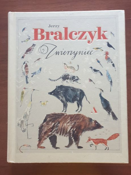 """JAK NOWA! J. Bralczyk """"Zwierzyniec"""" NA PREZENT!"""