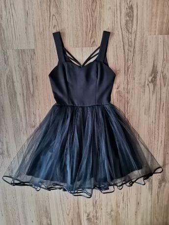 Sukienka czarna TALYA