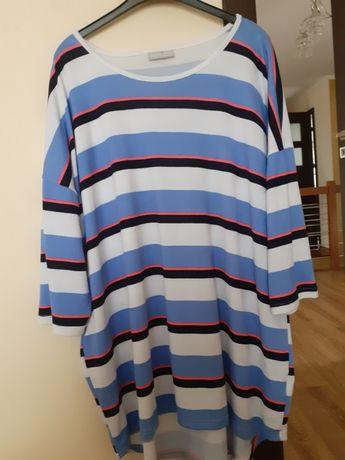 bluzka w paski xxxl