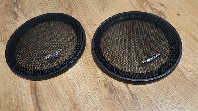 Nowe osłony głośnikowe boschmann czarne kapsle