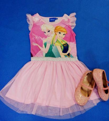 Нарядное платье Disney детское на девочку 3-4 года юбка фатин