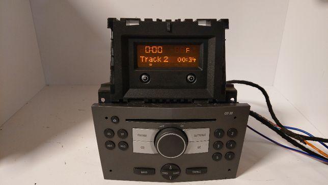 Opel Astra Radio cd 30 MP3 wylogowane/nie