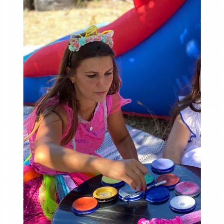 Animação Infantil, Pinturas Faciais, Modelagem de Balões, Insufláveis
