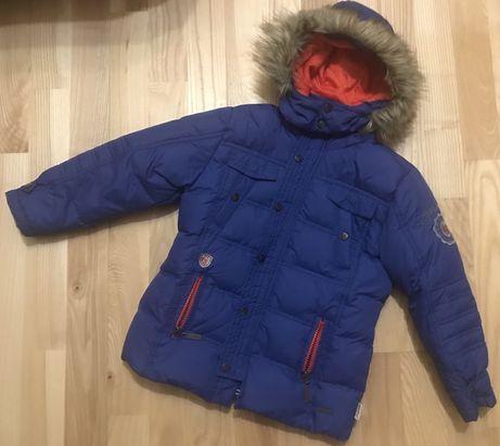 Dziecięca puchowa kurtka zimowa rozm. 104