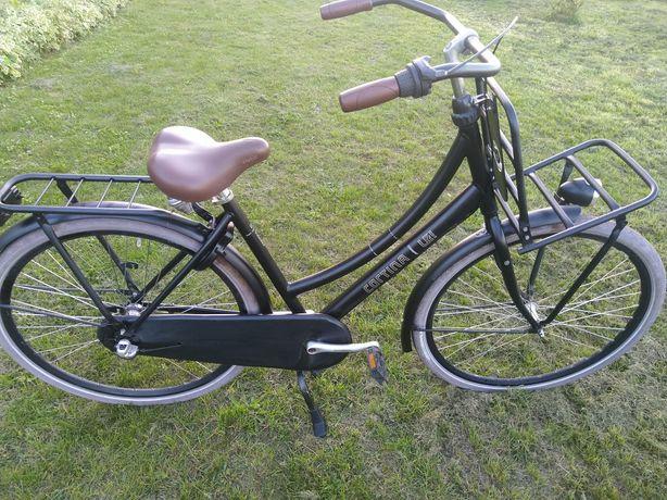 Rower damka Cortina U4 Transport Black 28 Alu Nexus