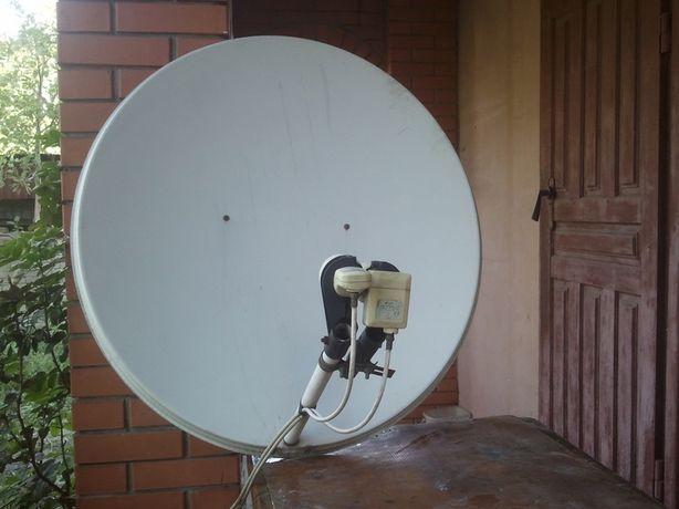 Спутниковая антенна на две головки антена тарелка