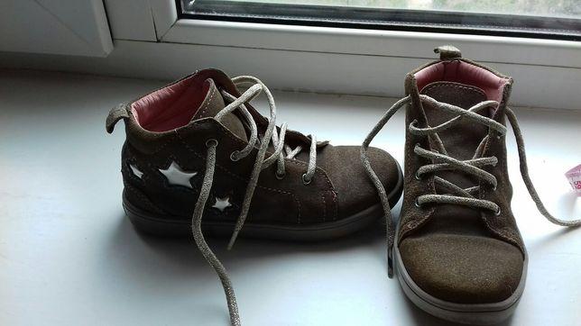 ботинки кожаные lupilu 18 см черевички