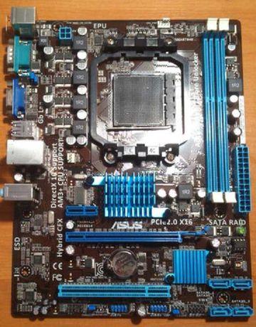 Материнская плата ASUS M5A78L-M LX (AM3+) + AMD Athlon II X2 250