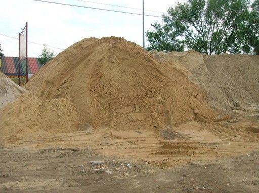 Piasek wiślany, piasek rzeczny, żwir do murowania, piasek do murowania