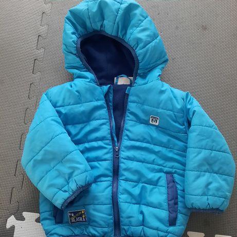 Niebieska kurtka rozm. 86
