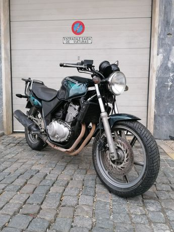 Honda CB 500cc Verde