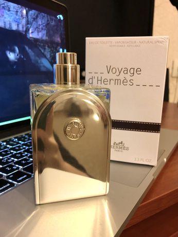 Духи voyage d'hermes 100 ml полные! унисекс