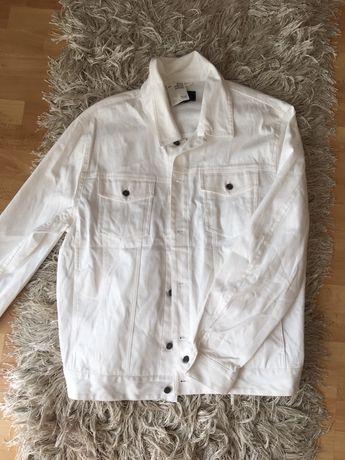 Katana jeansowa biała XL