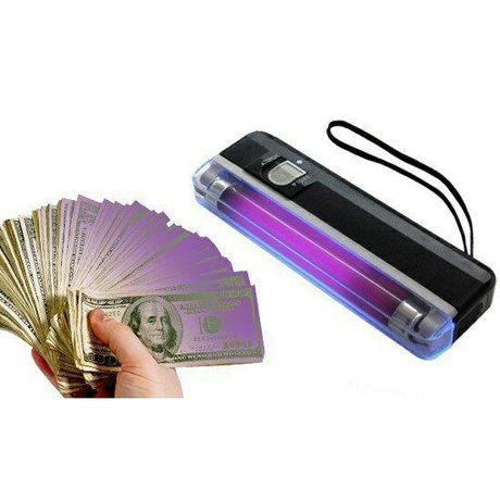 Портативный ультрафиолетовый детектор купюр DL 01документов ,цена 282
