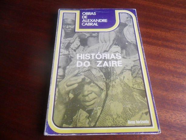 """""""Histórias do Zaire"""" de Alexandre Cabral"""