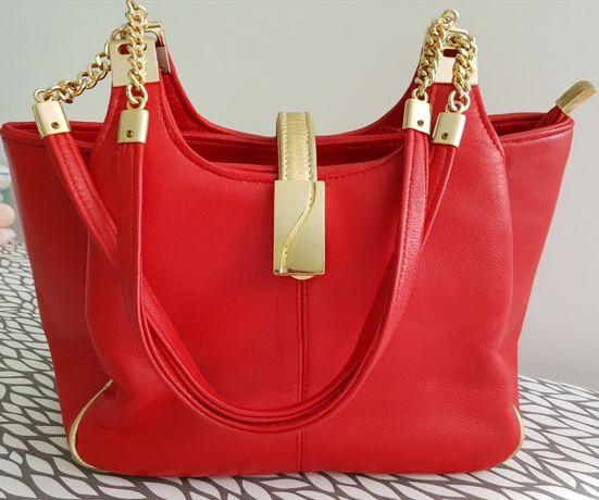 Кожаная женская сумка новая Burberrys