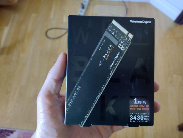 Dysk twardy SSD WD Black SN750 1tb m2 nvme