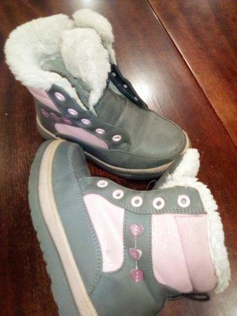 Детская обувь,ботинки зимние на девочку
