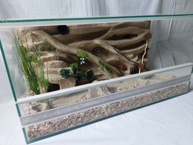 Terrarium AquaWaves nr. kat.TW08PU (pająk, wąż, gekon, jeż, agama)