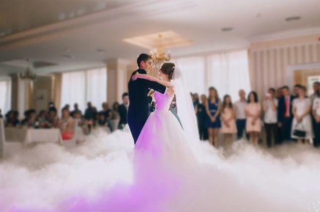 Taniec w chmurach (ciężki dym) - Pierwszy taniec, tort, sesja