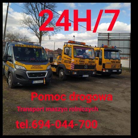 Pomoc drogowa transport do 12 ton