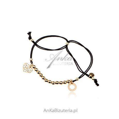 ankabizuteria.pl biżuteria posrebrzana komplety Bransoletka srebrna po