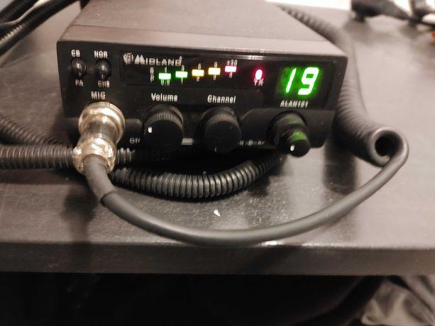 Radio CB Midland Alan 101 komplet